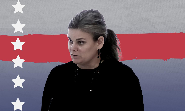 الدبلوماسية الأمريكية إيمي كترونا (وزارة الخارجية الأمريكية)