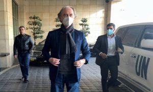 المبعوث الأممي إلى سوريا غير بيدرسون- 21 شباط 2021 (رويترز)