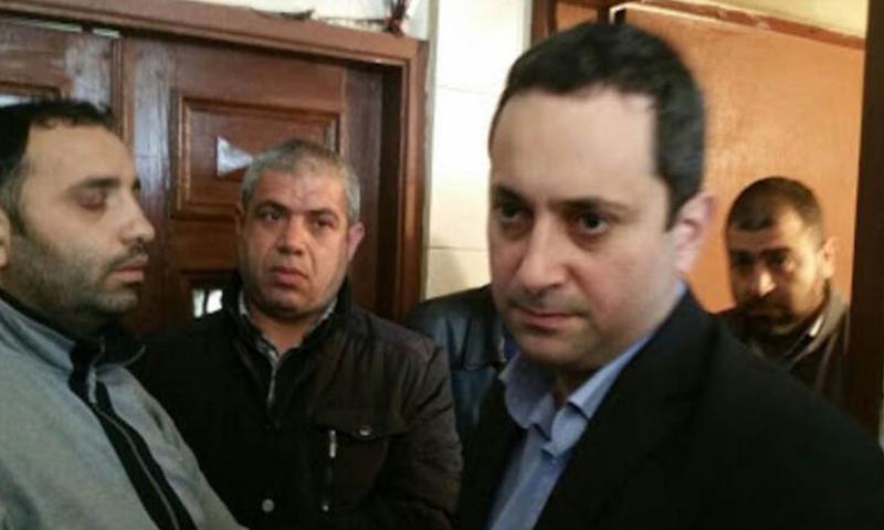 القاضي اللبناني طارق البيطار، بيروت نيوز، 2021.