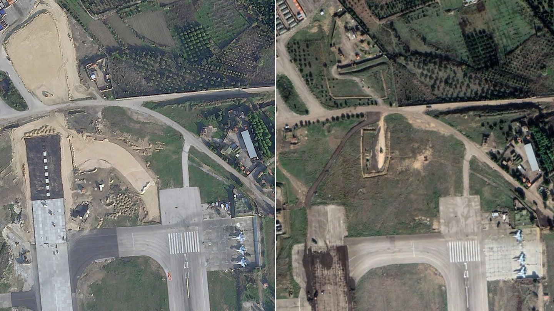 روسيا تمد أحد المدارج في قاعدتها الجوية السورية، 5 شباط 2021 (The War Zone)
