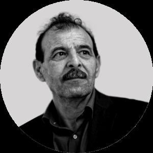 """مدير """"المركز السوري للدراسات والأبحاث القانونية""""، أنور البني، 2021، تعديل عنب بلدي."""