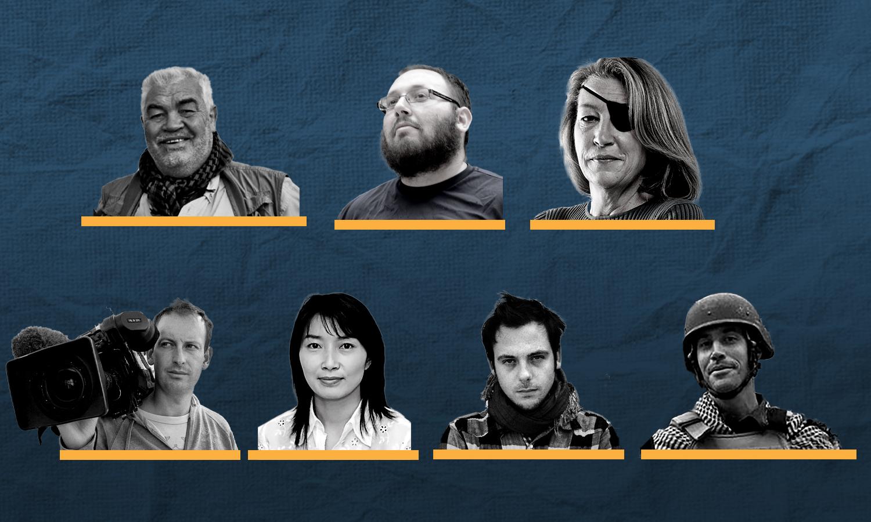 صحفيون أجانب قتلوا في سوريا (عنب بلدي)