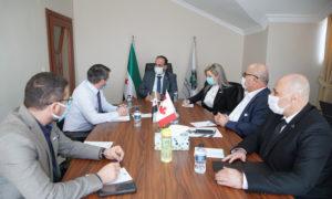 لقاء المبعوث الكندي مع وفد الائتلاف السوري 9 من آذار ( الائتلاف الوطني السوري)