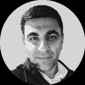 الحقوقي السوري، حسام القطلبي، 2021، تعديل عنب بلدي.