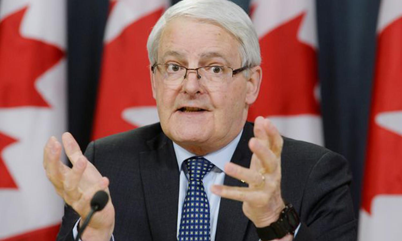 وزير الخارجية الكندي، مارك غارنو، آب 2019 (AP)
