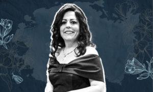 المطربة السورية ميادة بسيليس (تعديل عنب بلدي)