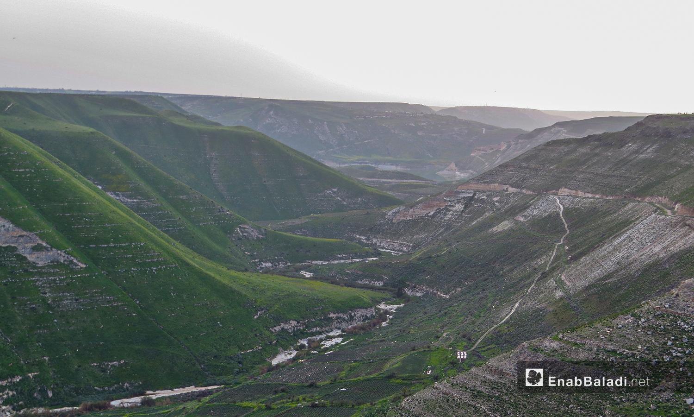 وادي زيزون بريف درعا - 28 آذار 2021 (حليم محمد - عنب بلدي )