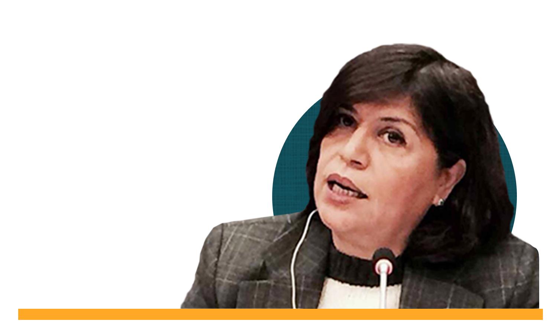 المحامية والناشطة في مجال حقوق المرأة صباح حلاق