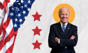 الرئيس الأمريكي جو بايدن (تعديل عنب بلدي)