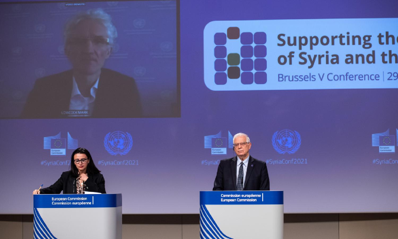 مؤتمر يروكسل الخامس (المصدر_ موقع الاتحاد الأوروبي)