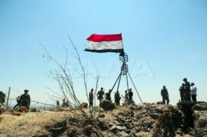 عناصر من جيش النظام السوري ( المصدر_ سانا)