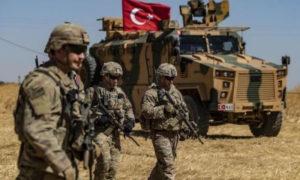 قوات من الجيش التركي في سوريا (AFP)