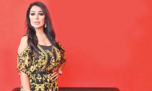 الفنانة السورية سناء قطان (صحيفة الرأي)