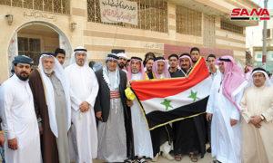 ملتقى المجلس العشائري في درعا (المصدر _ سانا)