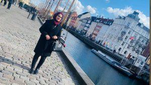 اللاجئة السورية، نيفين رحال 14 من نيسان (عنب بلدي)