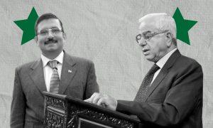 المرشحان للانتخابات السورية عبدالله سلوم عبدالله (يمين) ومحمد فراس رجوح (عنب بلدي)