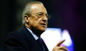 فلورنتينو بيريز رئيس نادي ريال مدريد (Getty)