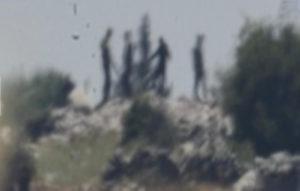صور للموقع بعد الاستهداف (صحيفة إسرائيل اليوم)