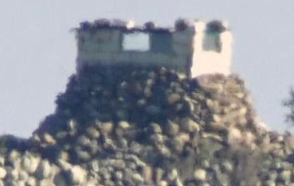 صور للموقع العسكري التابع للنظام السوري قبل الاستهداف (صحيفة إسرائيل اليوم)