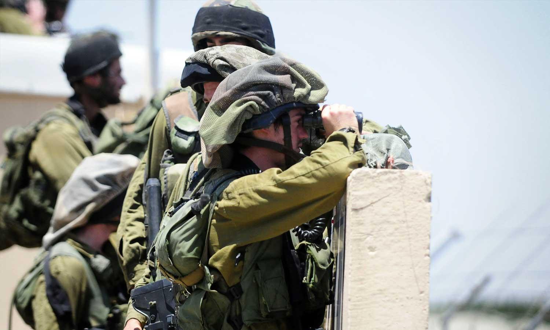 جنود إسرائيليون على الحدود السورية - 6 حزيران 2010 (وزارة الدفاع الإسرائيلية)