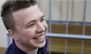 المدون المعارض البيلاروسي، رومان بروتاسيفيتش (رويترز)