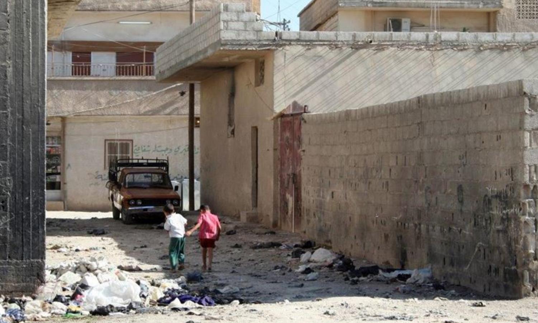 """مخيم """"الحسينية"""" (مجموعة العمل من أجل فلسطيني سوريا)"""