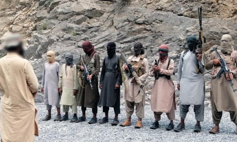 """عناصر من تنظيم """"الدولة الإسلامية"""" خلال شهر رمضان 2021 في باكستان (أعماق)"""