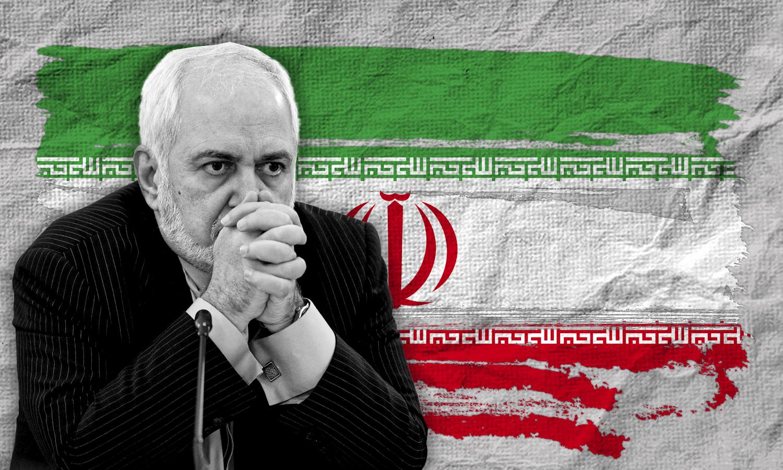 وزير الخارجية الإيراني جواد ظريف (تعديل عنب بلدي)