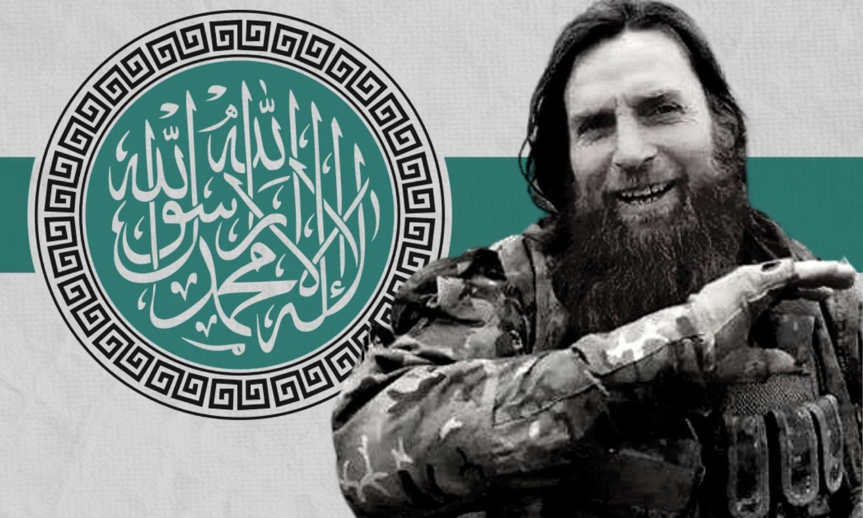 """قائد فصيل """"جنود الشام"""" مسلم شيشاني (عنب بلدي)"""
