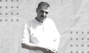 """رئيس مجلس محافظة القنيطرة """"الحرة"""" سابقًا، ورئيس """"لجنة المصالحات"""" لدى النظام السوري حاليًا، ضرار البشير- (تعديل عنب بلدي)"""