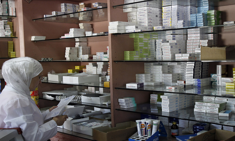 صيدلية في سوريا (AFP)
