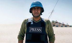 """كاميران سعدون (صفحته الشخصية على """"تويتر"""")"""