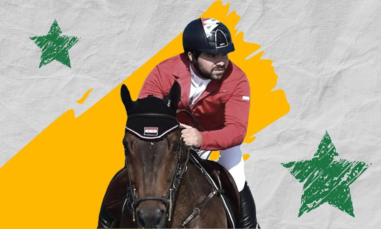 الرياضي أحمد صابر محمد حمشو (تعديل عنب بلدي)