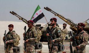 """مقاتلون من """"الجيش الوطني السوري"""" (إدارة التوجيه المعنوي)"""