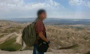 الفتاة الإسرائيلية التي عبرت الحدود إلى سوريا وأعيدت بموجب صفقة بوساطة روسية، في صورة أظهرتها القناة 12 في 20 من شباط 2021- (القناة 12)