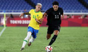 مواجهة المنتخب الألماني الأولمبي ضد البرازيل في أولمبياد طوكيو - 22 من تموز 2021 (المنتخب الألماني/ تويتر)