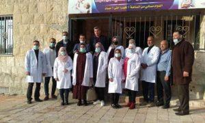 افتتاح مستوصف طبي في درعا البلد- 3 كانون الأول 2020 (جمعية البر والخدمات الاجتماعية في درعا)
