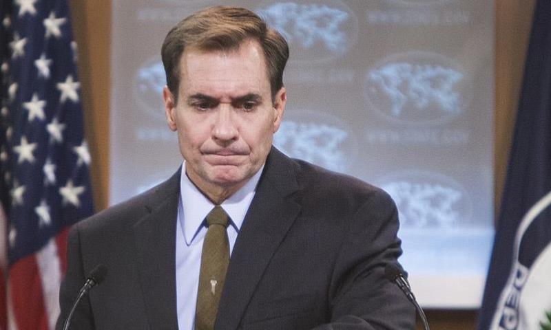 المتحدث باسم وزارة الدفاع الأمريكية (البنتاغون) جون كيربي (الأناضول)