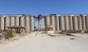 صوامع الحبوب في مدينة الطبقة (هاوار)