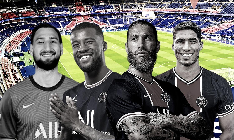تعاقدات لفريق باريس سان جيرمان الفرنسي (عنب بلدي)