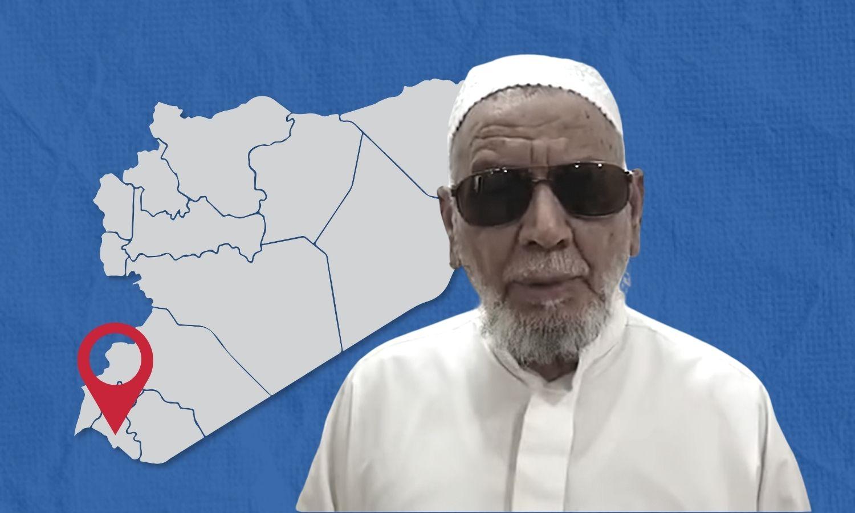 الشيح أحمد الصياصنة في مقطع مصور 5 من آب 2021 (تجمع أحرار حوران)