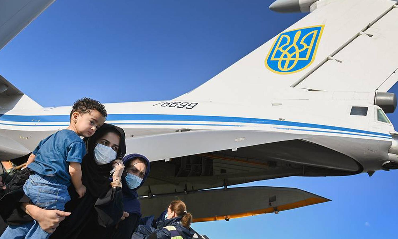 تعبيرية لطائرة أوكرانية (Globalloookpress.com)