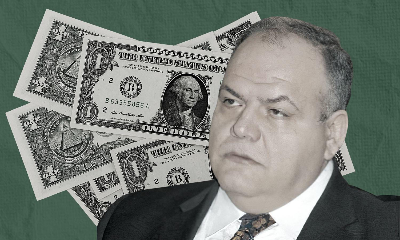 وزير التجارة الداخلية وحماية المستهلك في حكومة النطام السوري عمرو سالم (تعديل عنب بلدي)