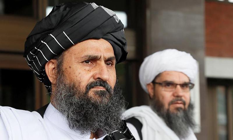 """مدير المكتب السياسي لحركة """"طالبان"""" عبد الغني بارادار- 2019 (رويترز)"""