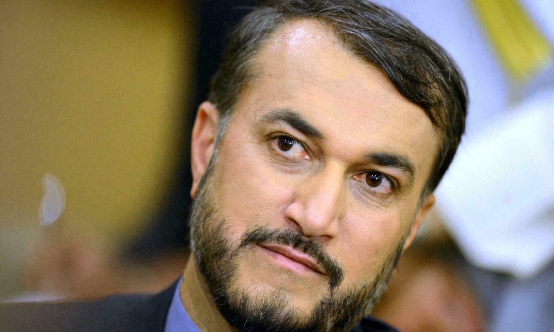 وزير الخارجية الإيراني، حسين أمير عبداللهيان، 2021، المصدر: AFP.