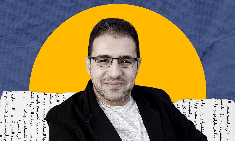 """مدير """"المركز السوري للعدالة والمساءلة"""" محمد العبد الله- (تعديل عنب بلدي)"""