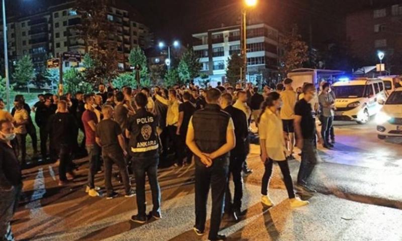 شجار يتحول إلى اعتداءات على سوريين في أنقرة (Haber Sol)