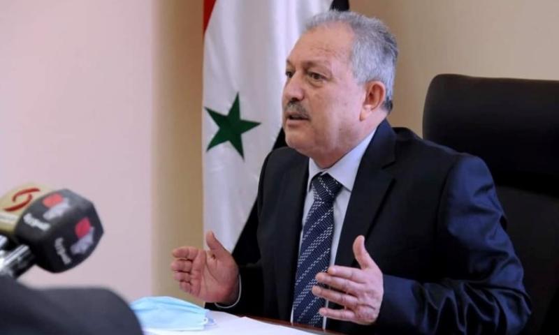 رئيس حكومة النظام السوري، حسين عرنوس (الميادين)