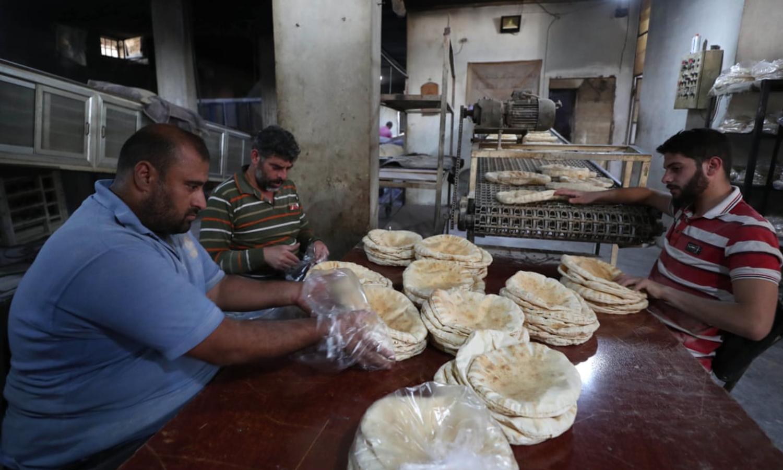 مخبز في سوريا (Gettey)