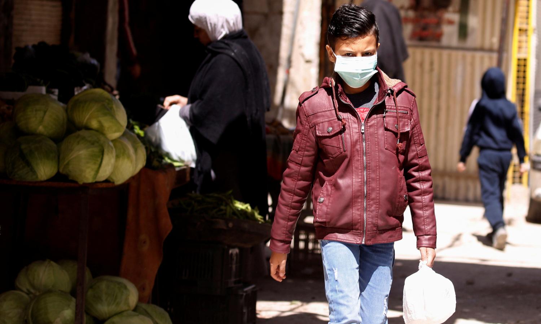 طفل سوري في جرمانا (رويترز)